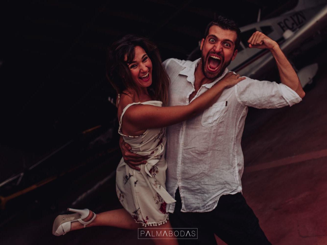 fotos de bodas diferentes palmabodas aviones