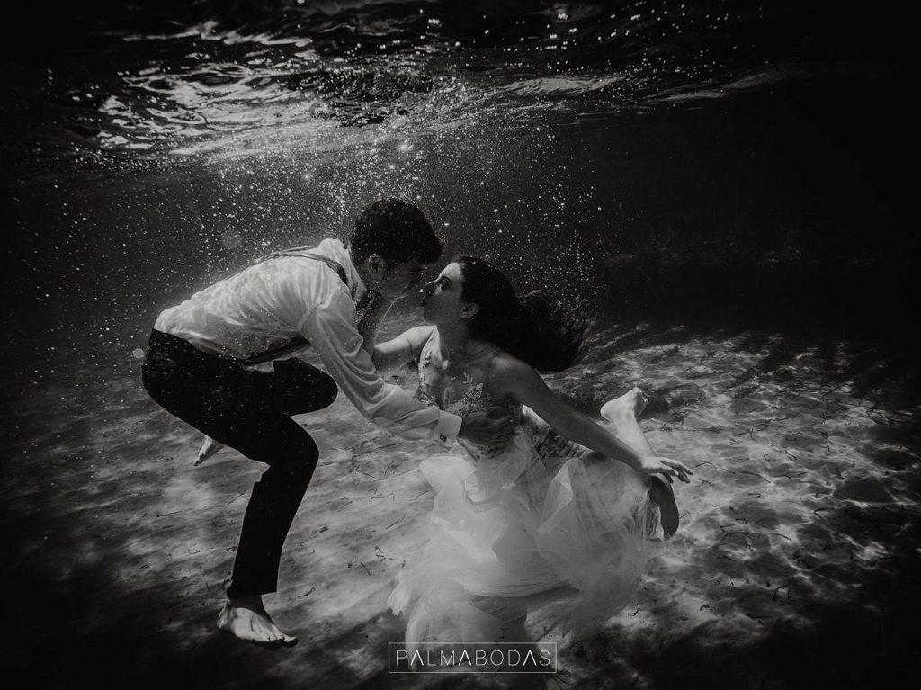 Consejos fotografías de boda acuáticas