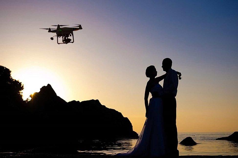 dron para tu boda