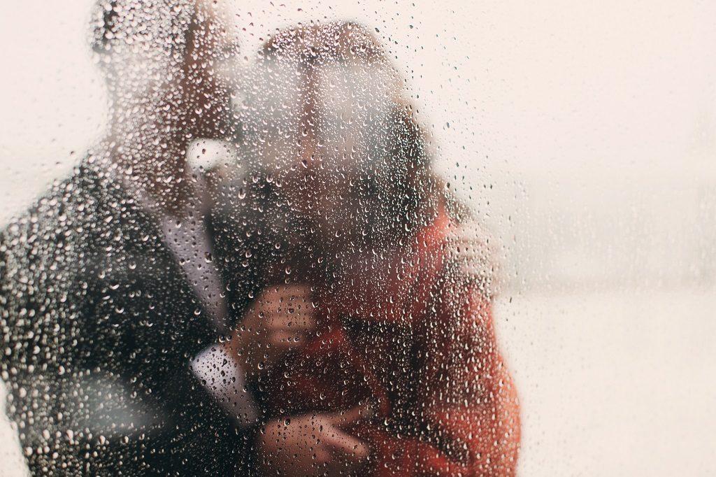 Fotografías de boda con lluvia